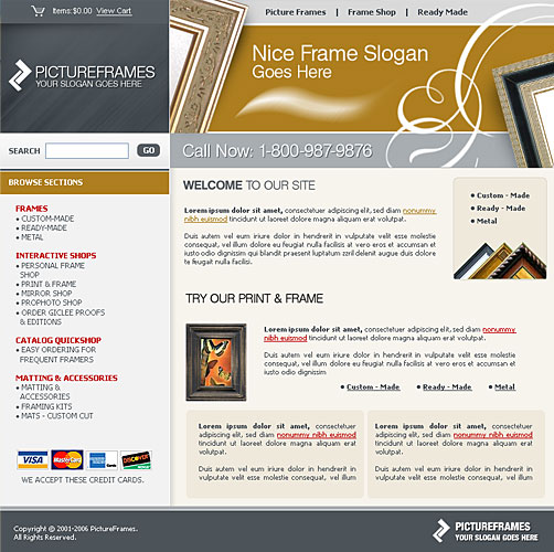 Website Template 43