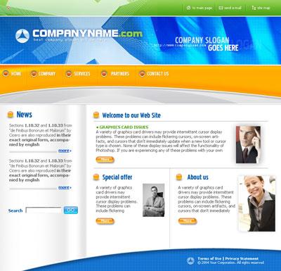 Website template 77 maxwellsz